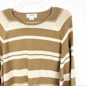 J. Crew | Women's Stripe Oversized Sweater